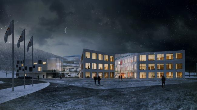 Штаб-квартира компании «Магнезит» в Сатке © anOtherArchitect