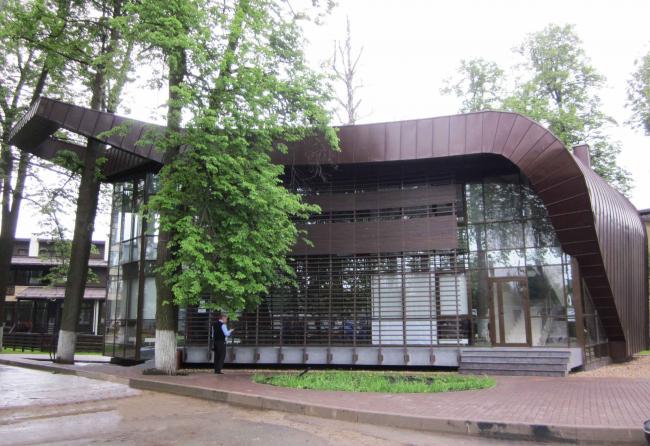Здание КПП в поселке «