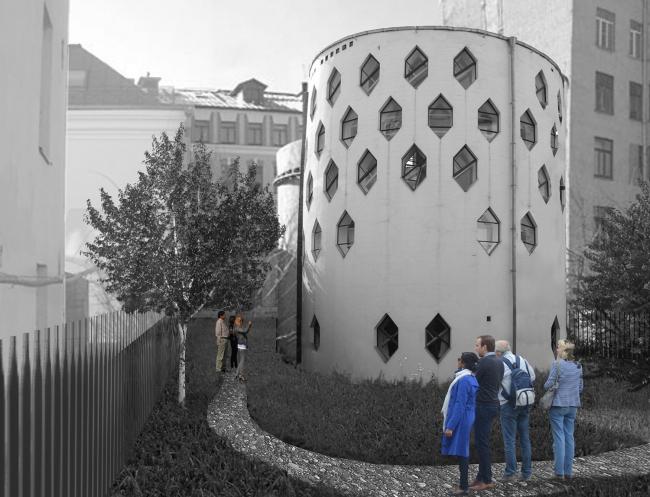 Проект победителей конкурса. Гинзбург Архитектс. Иллюстрации предоставлены организатором конкурса.