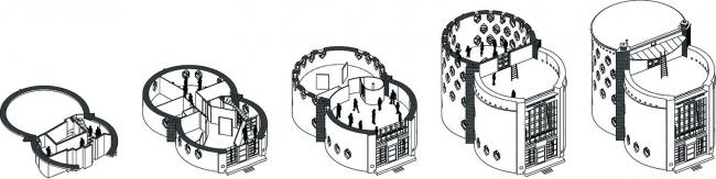 Проект победителей конкурса. Студия Агит Арх Архитекторы: Юрий Аввакумов, Татьяна Сошенина. Иллюстрации предоставлены организатором конкурса.