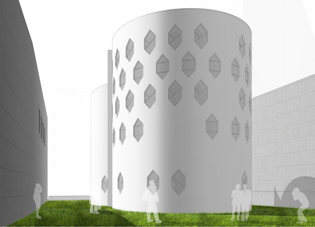 Проект архитектурной мастерской Тотана Кузембаева. Иллюстрации предоставлены организатором конкурса.