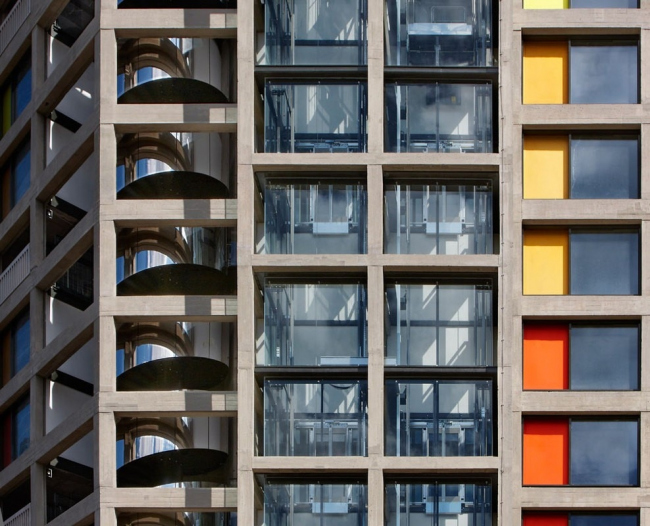 Жилой массив Park Hill в Шеффилде. Бюро Hawkins\Brown, Studio Egret West и Grant Associates © Daniel Hopkinson