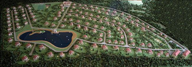 Загородный поселок «Резиденции монолит» © Михаил Белов