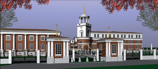 Административно-общественный центр комплекса Park Vill с английской школой в Жуковке