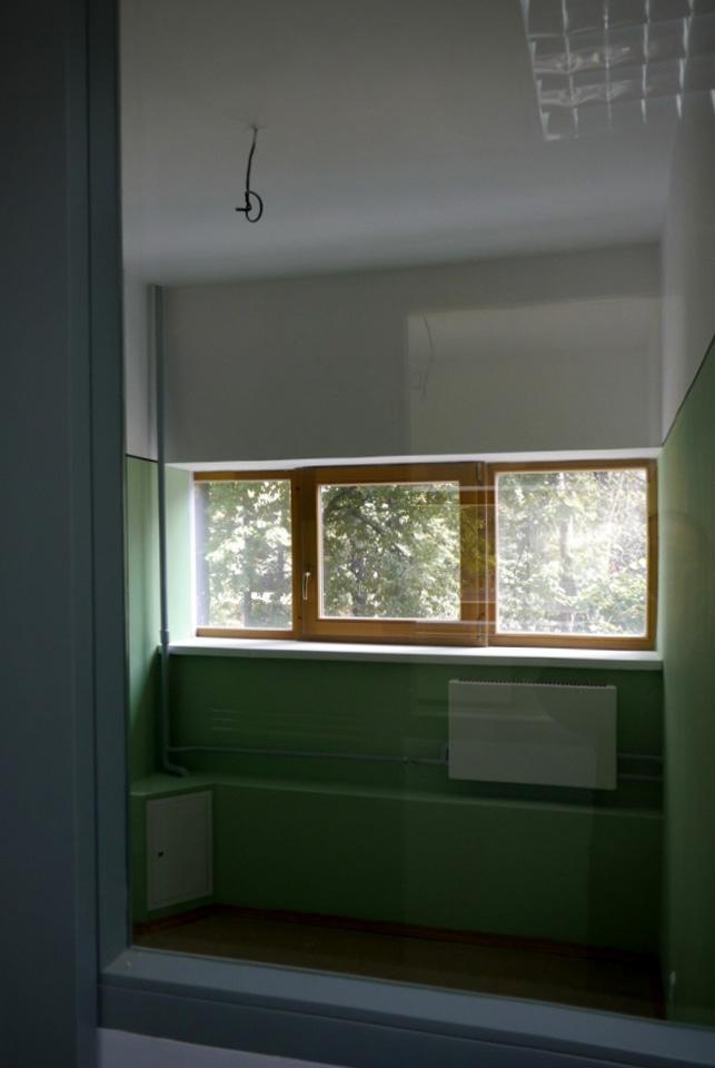 Спальный блок, комната музейного модуля. Фотография Е.Шорбан, 2013
