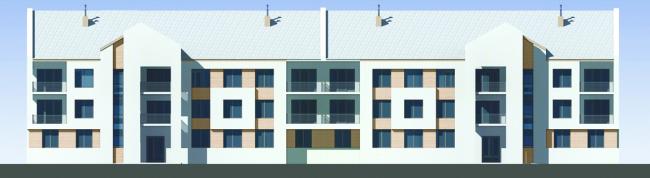 Проект многоквартирного жилого дома