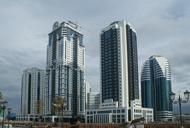ЖК «Феникс» в бизнес-квартале «Грозный-Сити». Фото с сайта blogrider.ru