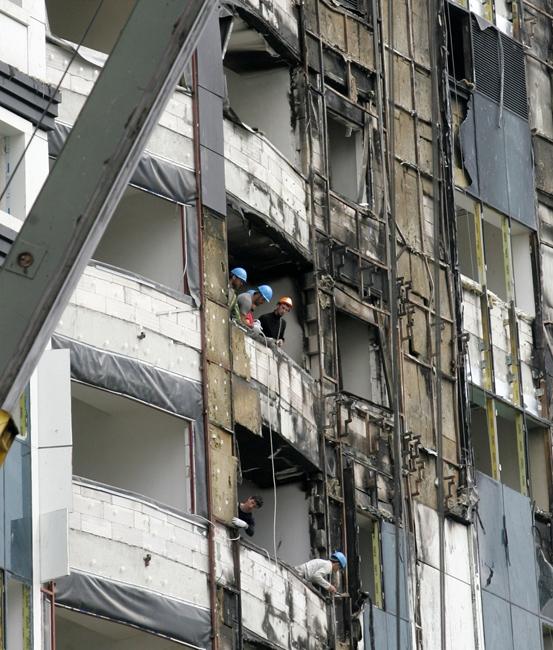Работы по восстановлению фасадов. Фото с сайта www.werst.ru