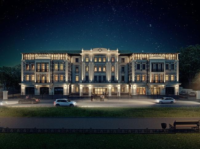 Офисное здание по ул. Довженко. Иллюстрация предоставлена компанией ЗАО «Фирма «Кирилл»