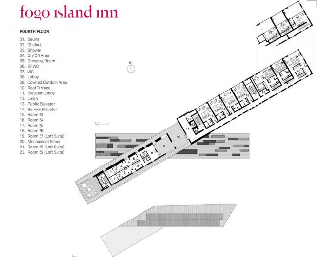 Отель Fogo Island Inn © Saunders Architecture