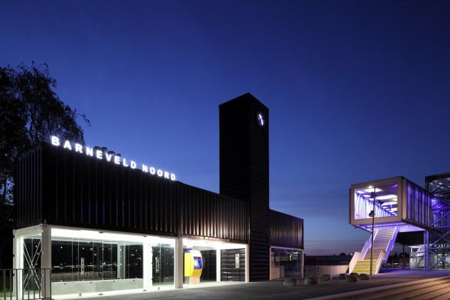 Железнодорожная станция Барневелд-Норд © Bart van Hoek