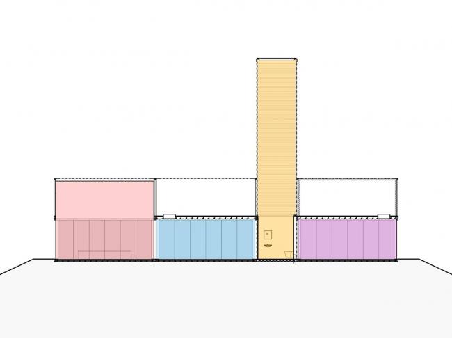Железнодорожная станция Барневелд-Норд © NL Architects