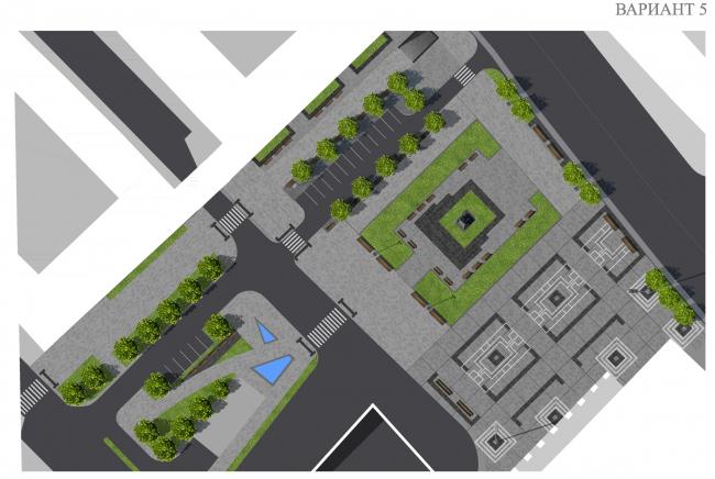 Беспокойство о площадях: 4+1