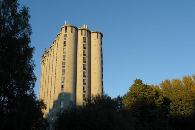 Зерновое общежитие