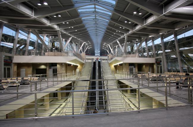 Олимпийский вокзал в Сочи. Интерьер. © «Студия 44»