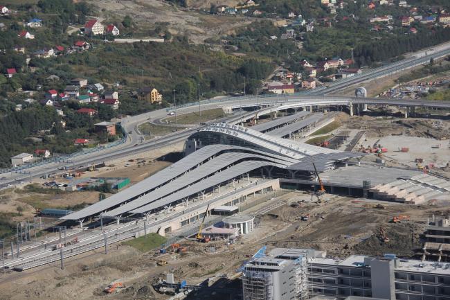 Олимпийский вокзал в Сочи © «Студия 44»