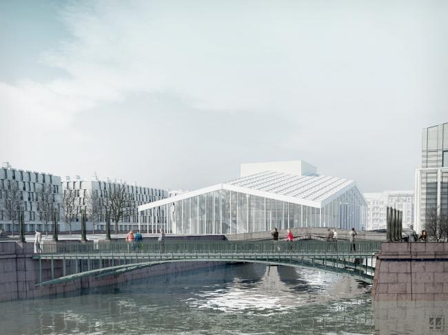 Архитектурная концепция «Регулярный город» © «Студия 44»