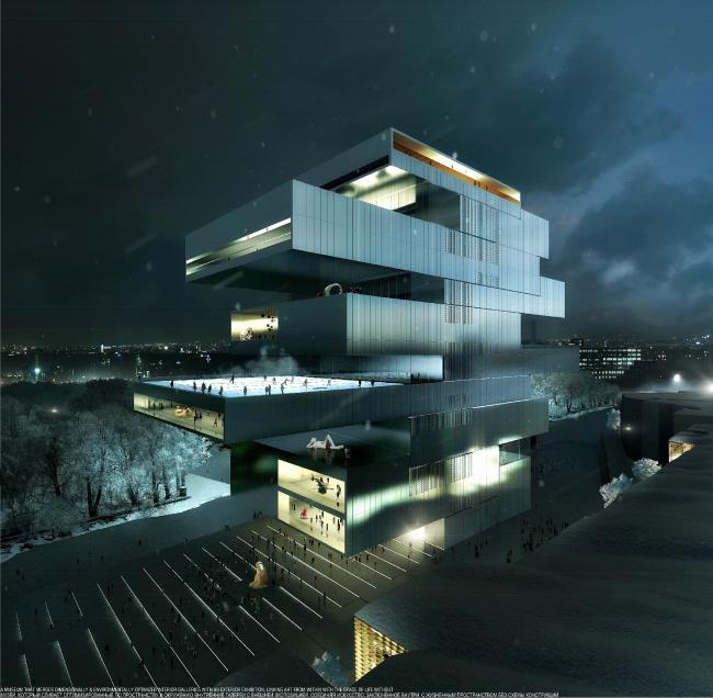Победителем конкурса на разработку концепции нового здания ГЦСИ в Москве стали ирландцы