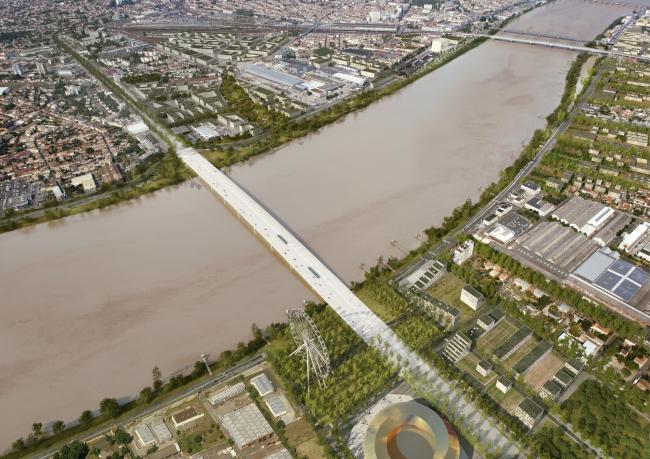 Мост Жан-Жака Боска © OMA, Artefactory