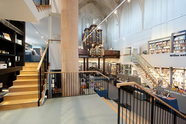 Книжный магазин Waanders In de Broeren © Hans Westerink