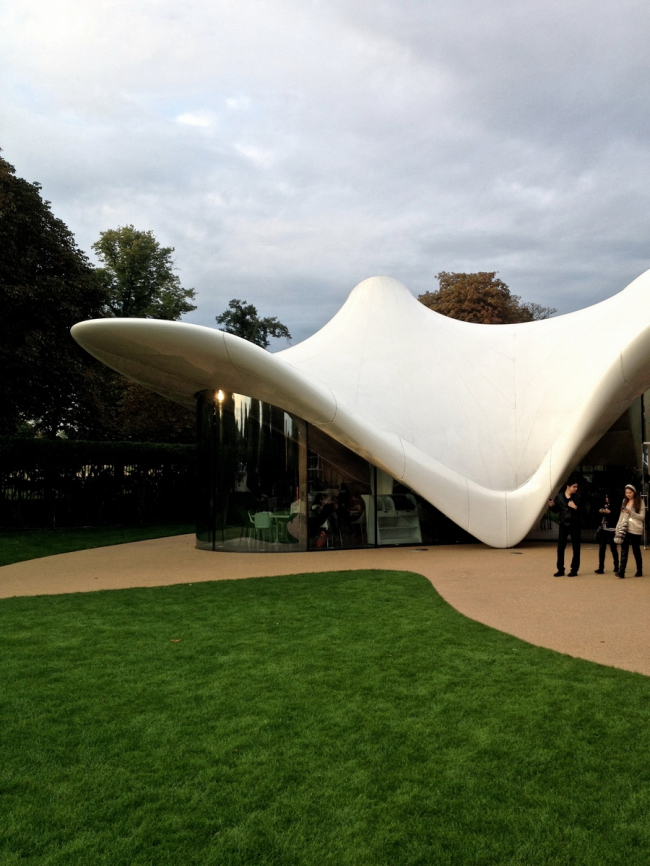 Кафе The Magazine в Serpentine Sackler Gallery. Фото © Дмитрий Аранчий