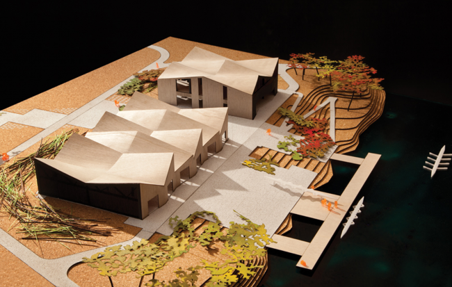 Эллинг WMS. Фото: Steve Hall © Studio Gang Architects