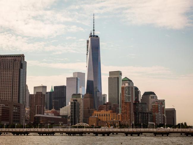 ВТЦ Башня 4. В центре фото - ВТЦ Башня 1. Фото: Joe Woolhead / Silverstein Properties