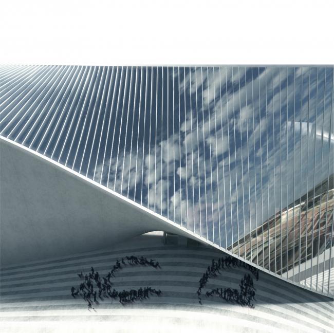 Культурный центр ARTA © BIG with Allard Architecture