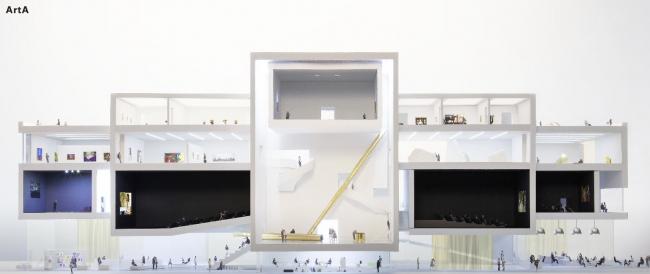Культурный центр ARTA © NL Architects © Architecture Studio HH, SO-IL and ABT