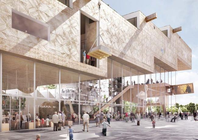 Культурный центр ARTA © NL Architects