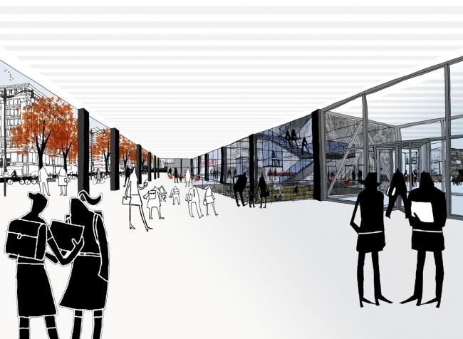 Мемориальная библиотека Мартина Лютера Кинга–реконструкция © Mecanoo, Martinez + Johnson Architecture