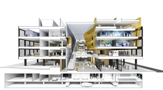 Конкурсный проект Studios Architecture и Freelon Group