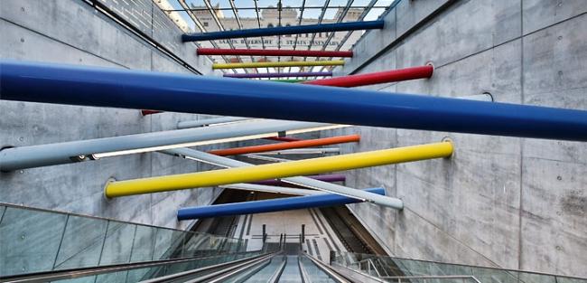 Станция городской электрички «Баварский вокзал». Фото © H.-C. Schink