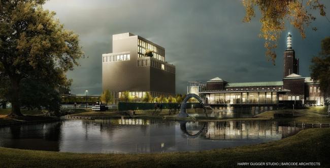Проект Harry Gugger Studio и Barcode Architects