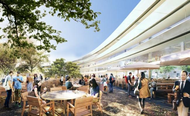 Штаб-квартира компании Apple © City of Cupertino