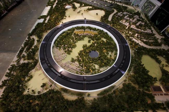 Кампус Apple Park – штаб-квартира компании Apple © Dai Sugano / Bay Area News Group