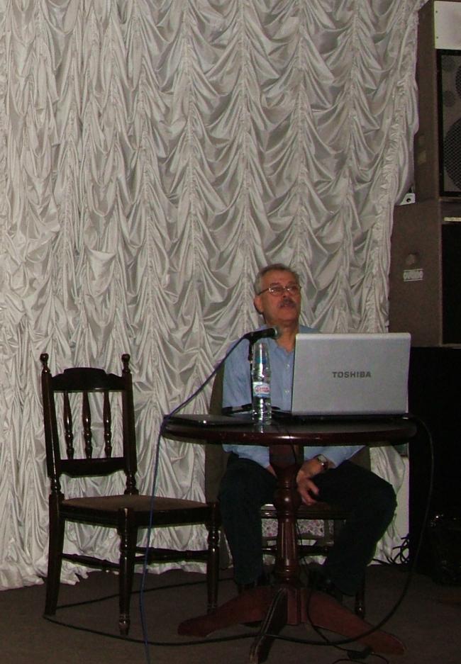 Встреча с Александром Высоковским в ЦДА. Фото А. Павликовой