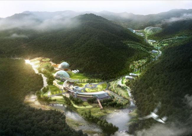 Национальный исследовательский центр исчезающих видов © Samoo Architects & Engineers
