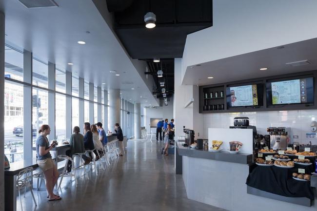 Колледж Эмерсона–здание в Лос-Анджелесе © Iwan Baan