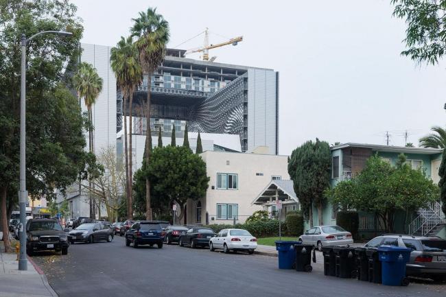 Колледж Эмерсона–здание в Лос-Анджелесе © Iwan Baan. Фото с сайта morphopedia.com