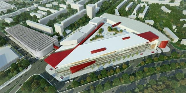 ТПУ «Селигерская». Фотография с сайта facebook.com/stroimos
