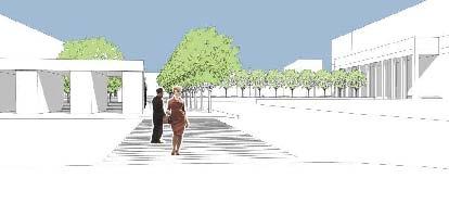 Концепция благоустройства Триумфальной площади. Buromoscow
