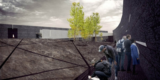 Проект команды Wodiczko+Bonder © National Holocaust Monument Development Council