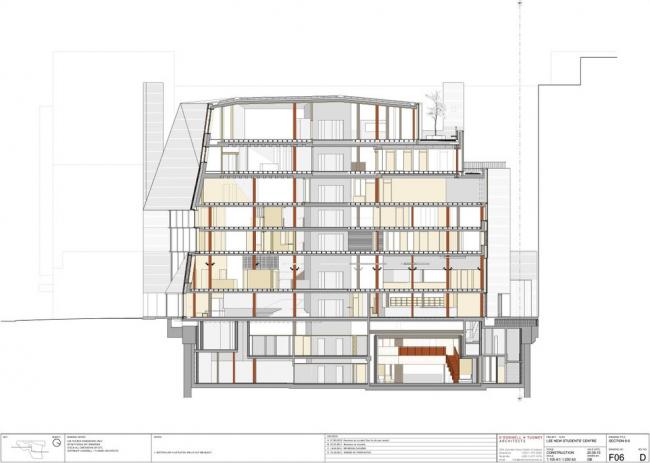 Студенческий центр им. Со Суи Хока Лондонской школы экономики © O'Donnell + Tuomey Architects
