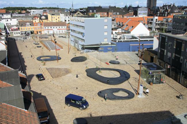 Площадь Neuen Grønnegade, Odense. Фотография предоставлена компанией «Кирилл»