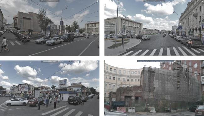 Тургеневская площадь и площадь Мясницкие ворота. Существующее положение. Фотоматериалы предоставлены АБ «Четвертое измерение»