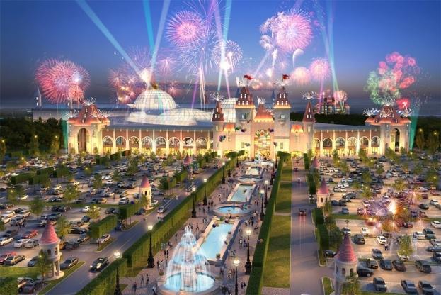 Мэру Собянину показали проект развлекательного парка Dreamworks в Нагатинской пойме