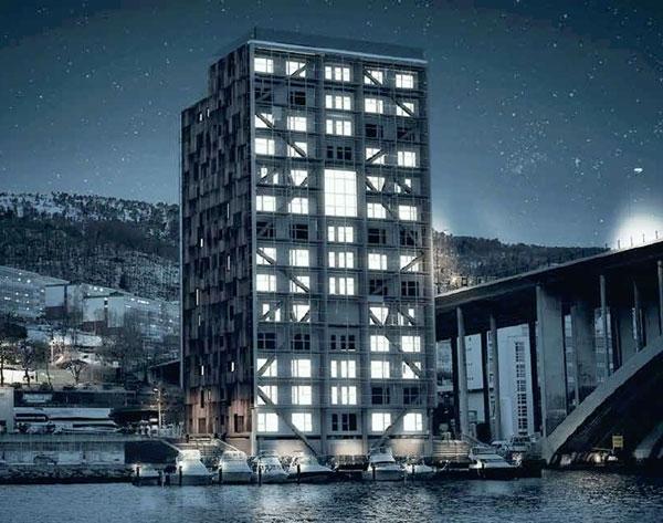 В Норвегии построят самый высокий деревянный дом в мире