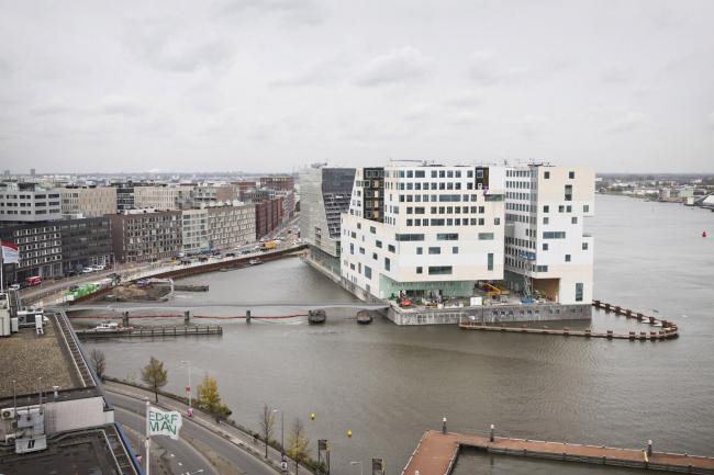 Комплекс IJdock. Claus & Kaan. Дворец правосудия и корпус прокуратуры. Фото © Rene den Engelsman