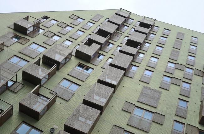Комплекс IJdock. Жилой корпус бюро Zeinstra van Gelderen  © Klaas Vermaas /<br />  Klaas5 via flickr.com